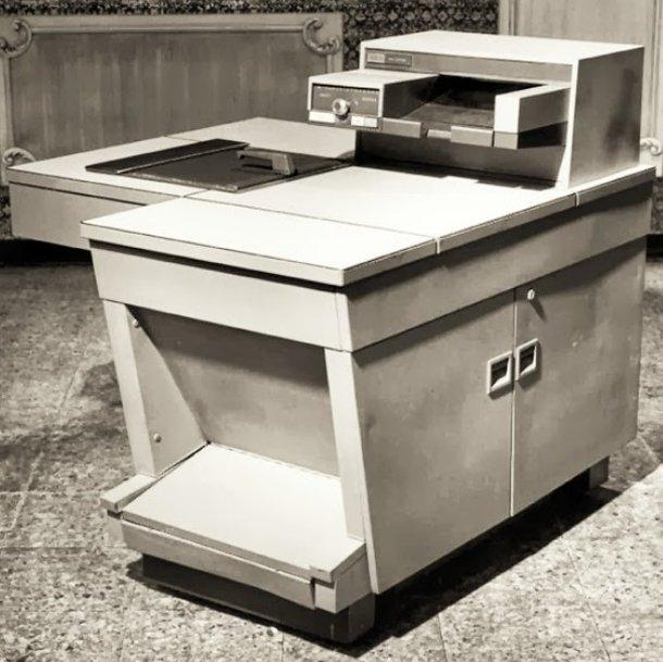Una máquina Xerox 914.