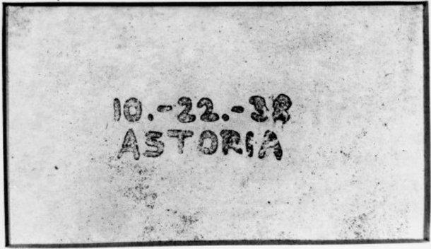 La primera fotocopiadora del mundo.