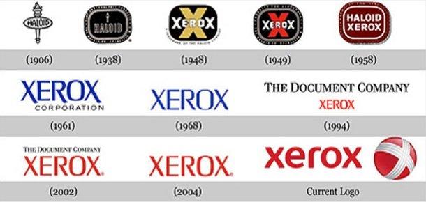 Una serie de logotipos.